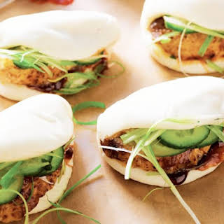 Chinese Roast Chicken Buns.