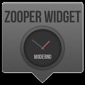 Moderno - Zooper Widget Skin