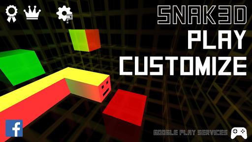 Snak3D: The 3D Snake Game