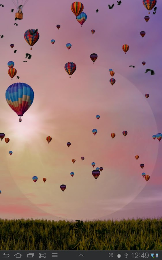 Hot Air Balloons Wallpaper Screenshot 5
