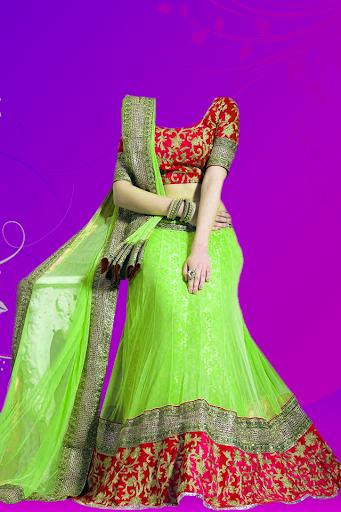 Woman Lengha Choli Suit Photo