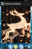 Screenshot of Christmas Cards