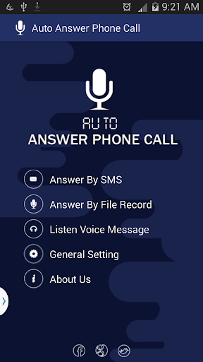 Auto Answer Phone Call