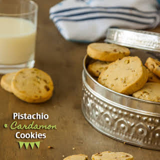 Pistachio and Cardamom Cookies.