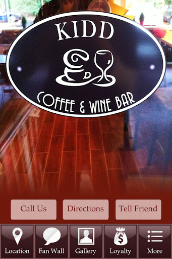 Kidd Coffee Wine Bar Mason