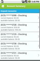 Screenshot of NBD MoBanking