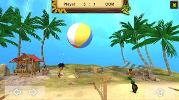 Screenshot of Volleyball Island