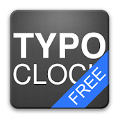 TypoClock Free