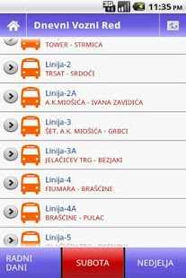 Rijeka Bus - screenshot thumbnail