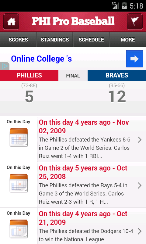 Philadelphia Pro Baseball - screenshot