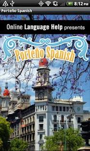 Porteño Spanish- screenshot thumbnail