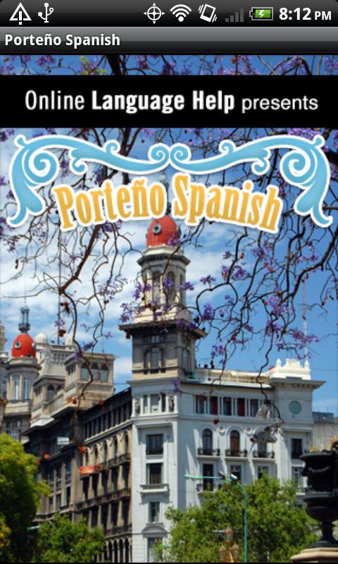 Porteño Spanish- screenshot