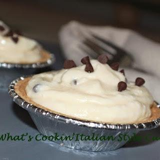 No Bake Chocolate Chip Mascarpone Cheesecake.
