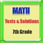 7th Grade Math Tests and Sol. icon