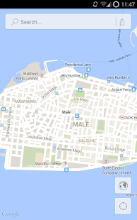 Male' Map- screenshot thumbnail