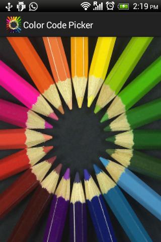 Color Code Picker