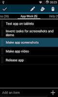 Screenshot of Simple Tasks & Notes