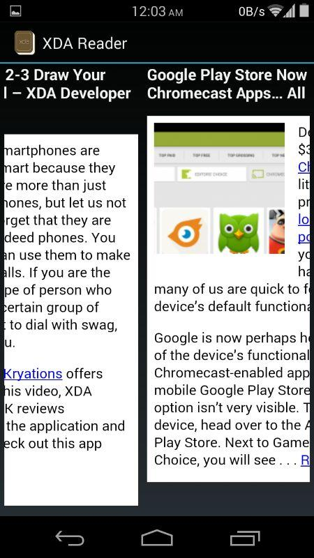 XDA Reader+ - screenshot