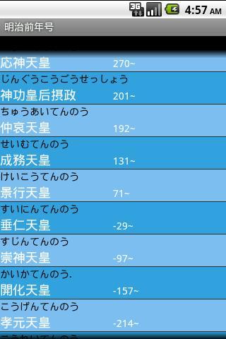 年齢・干支・年号・皇紀・西暦電卓- screenshot