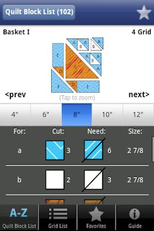 Quick & Easy Quilt Block Tool Screenshot