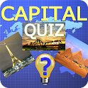 Funny capital quiz icon