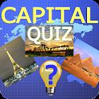 Funny capital quiz icon
