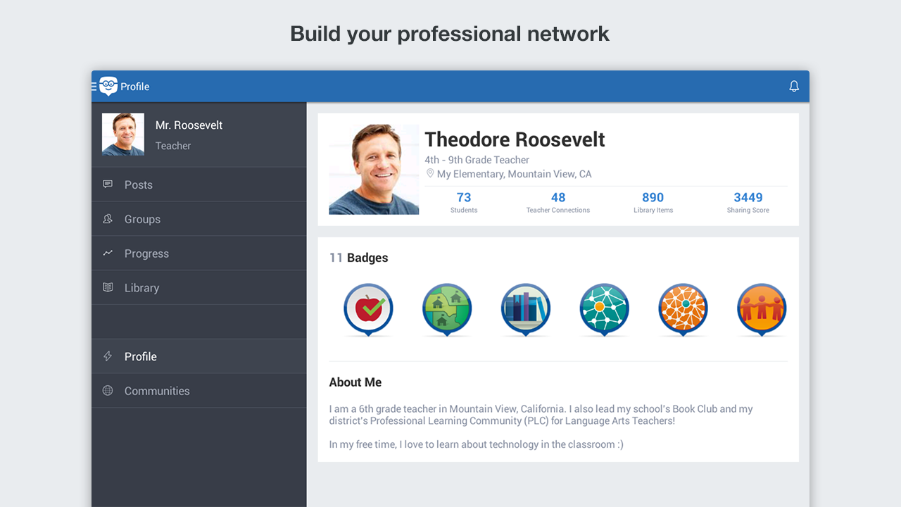 Edmodo- screenshot