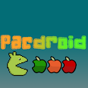 Pacdroid: Apples eater logo