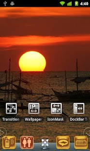 Harbor SunSet Theme - screenshot thumbnail