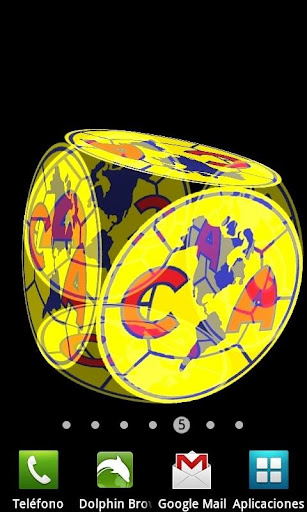 3D Club América Fondo Animado