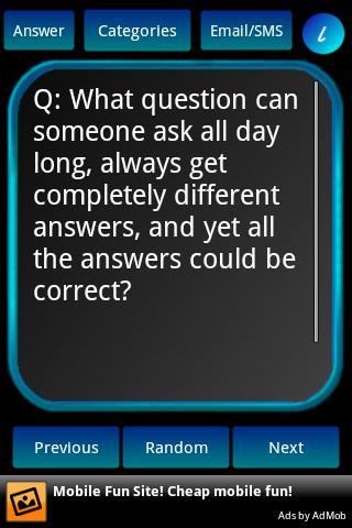Riddle This- screenshot
