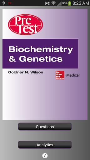 PreTest Biochemistry Genetics