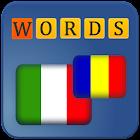 Puzzle Words: Italian-Romanian icon