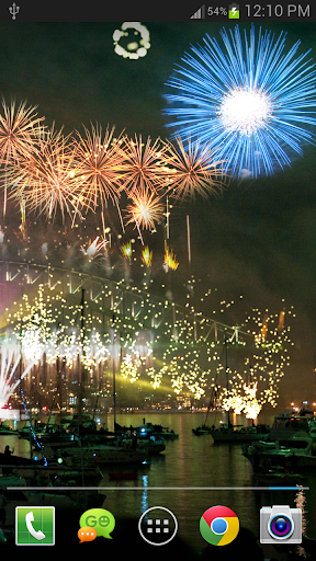 New Year Fireworks LWP (PRO) 1.3.1 screenshots 7