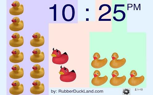 Ducky Clock- screenshot thumbnail