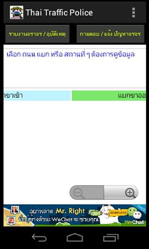 Thai Traffic รายงานจราจร