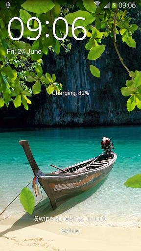 天然湖泊S5动态壁纸
