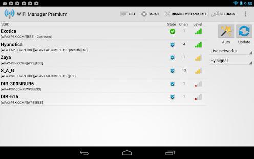 WiFi Manager - screenshot thumbnail