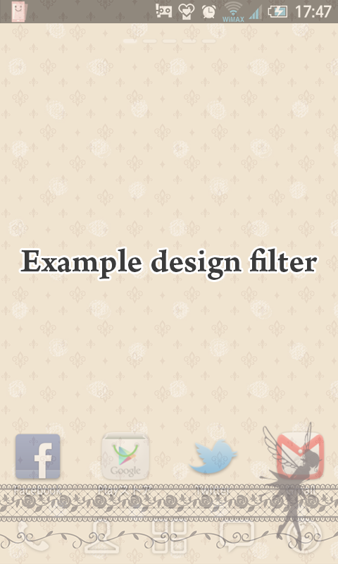 One-tap! Screen Privacy Filter- screenshot