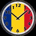 Romania Clock icon