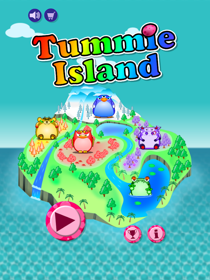 Tummie Island- screenshot