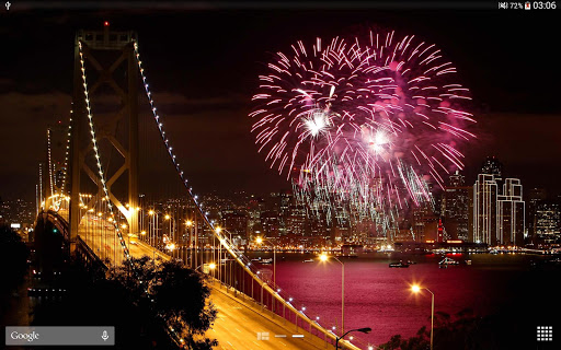 New Year Fireworks LWP (PRO) 1.3.1 screenshots 13