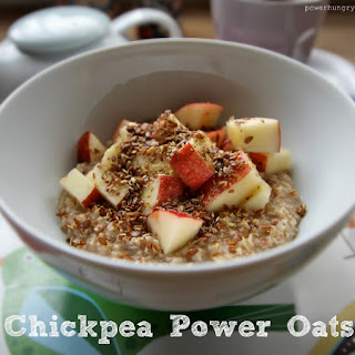 Chickpea Power Oatmeal