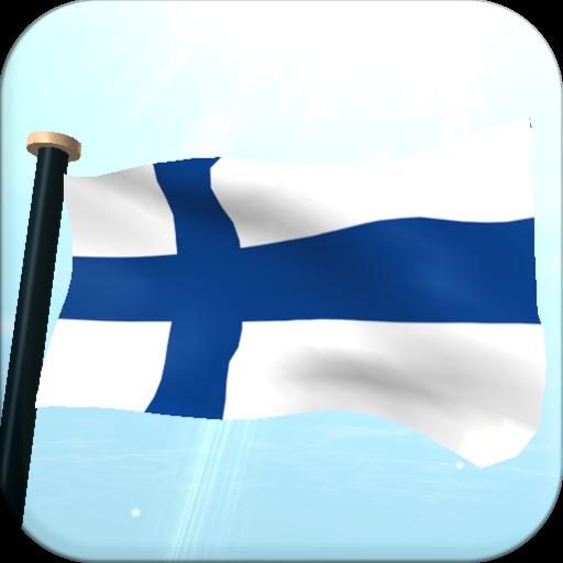 芬蘭旗3D動態桌布 個人化 App LOGO-硬是要APP