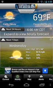 Knoxville Weather - screenshot thumbnail