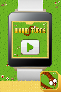 Worm Turns - Android Wear - screenshot thumbnail