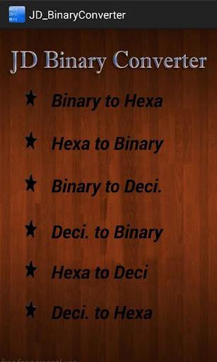 JD BinaryConverter