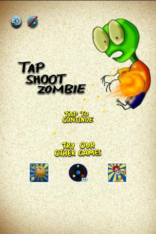 Tap Shoot Zombie!- screenshot