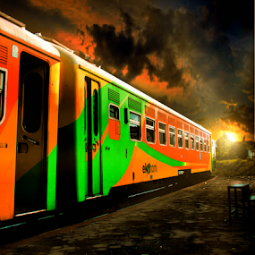 by Whika Singer - Transportation Trains