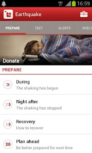 Earthquake -American Red Cross - screenshot thumbnail